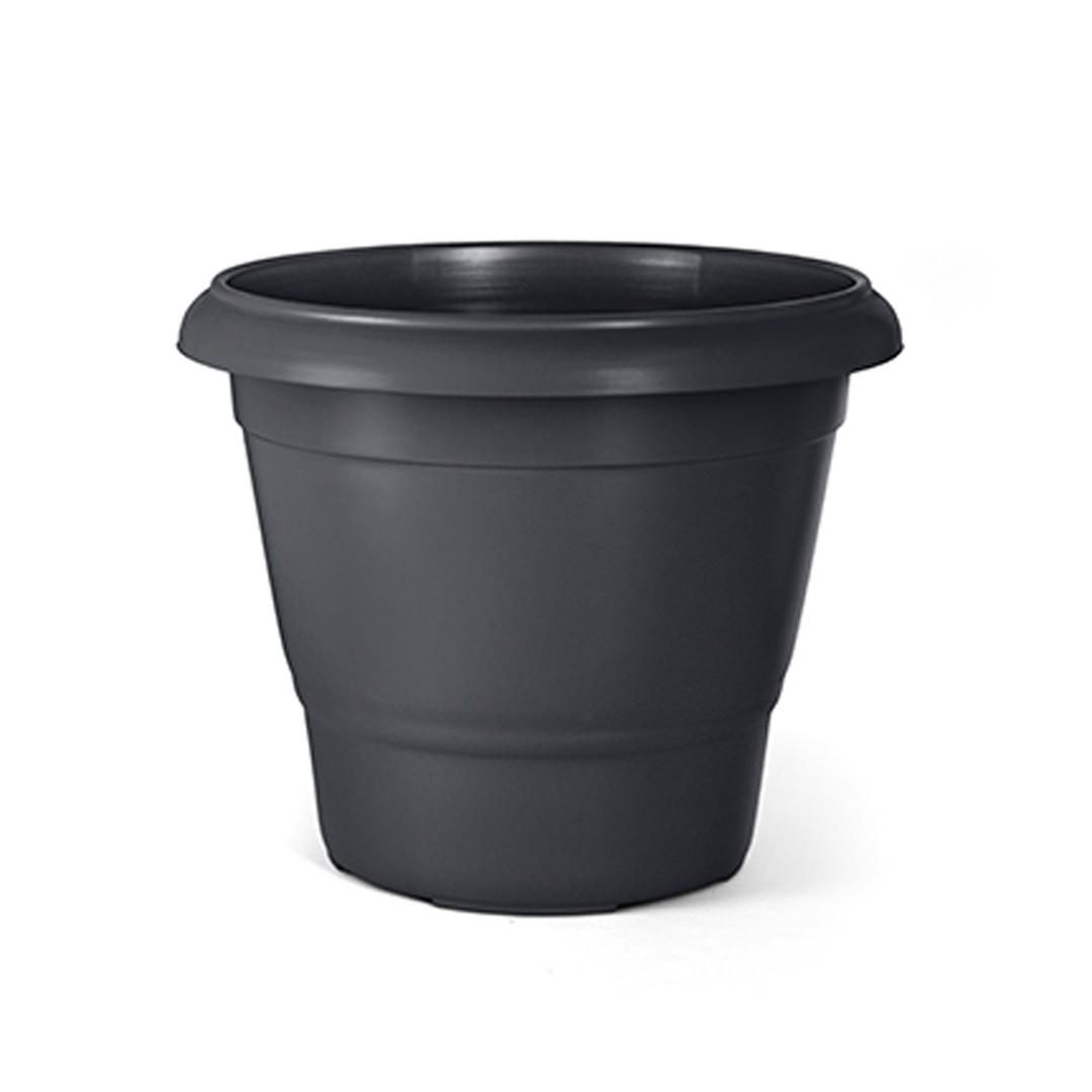 Vaso Terracota 02 (25cm de altura x 30cm de largura) cor Preto
