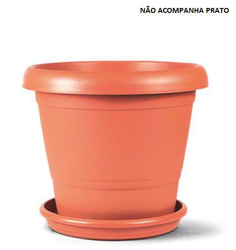 Vaso Terracota 03 (31cm de altura x 39cm de largura) - Cor Cerâmica