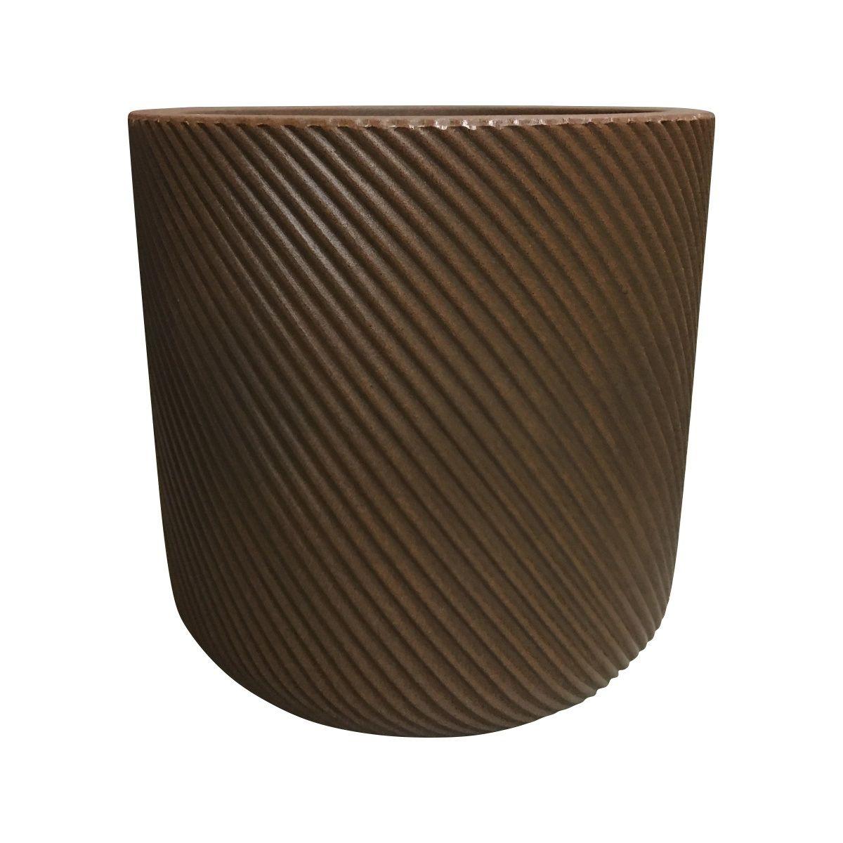 Vaso Vite Cilíndrico Vogue cor Ferrugem 34cm x 33,5cm - VCP2-FE
