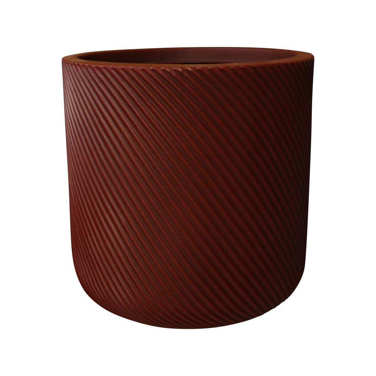 Vaso Vite Cilíndrico Vogue cor Vermelho Colonial 39cm x 39cm - VCP3-VC