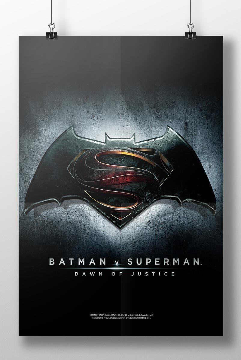 Pôster Batman VS Superman Dawn Of Justice