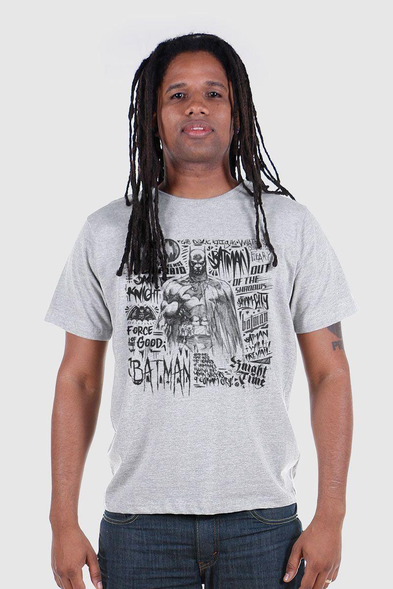 Camiseta Masculina Batman Force Of Good
