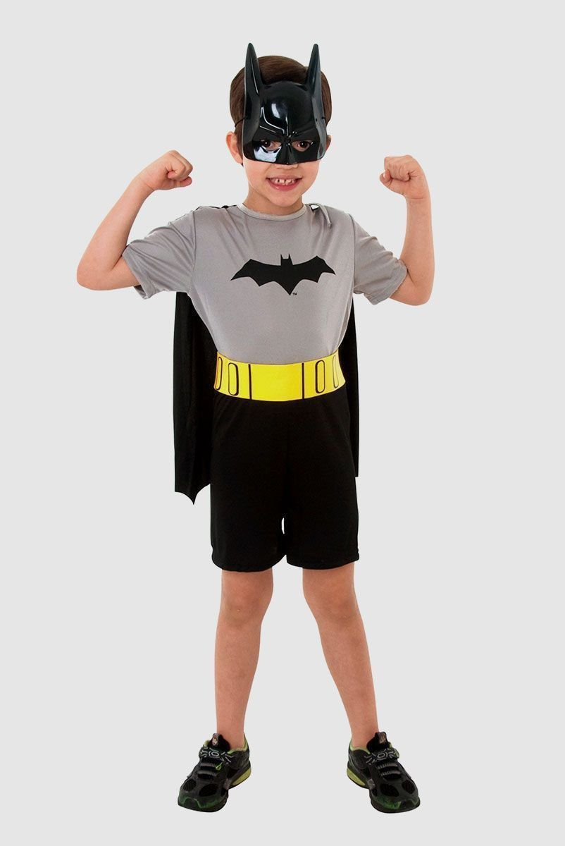 Fantasia Infantil do Batman com Máscara