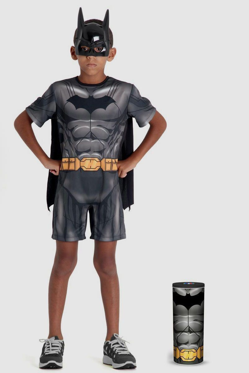 Fantasia Infantil Batman Pop na Lata