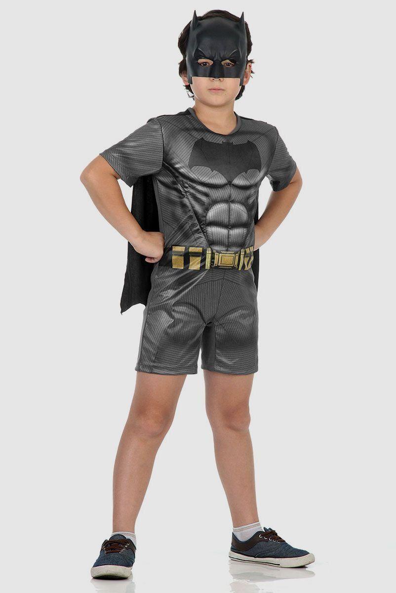 Fantasia Infantil Batman Vs Superman Pop Batman com Musculatura