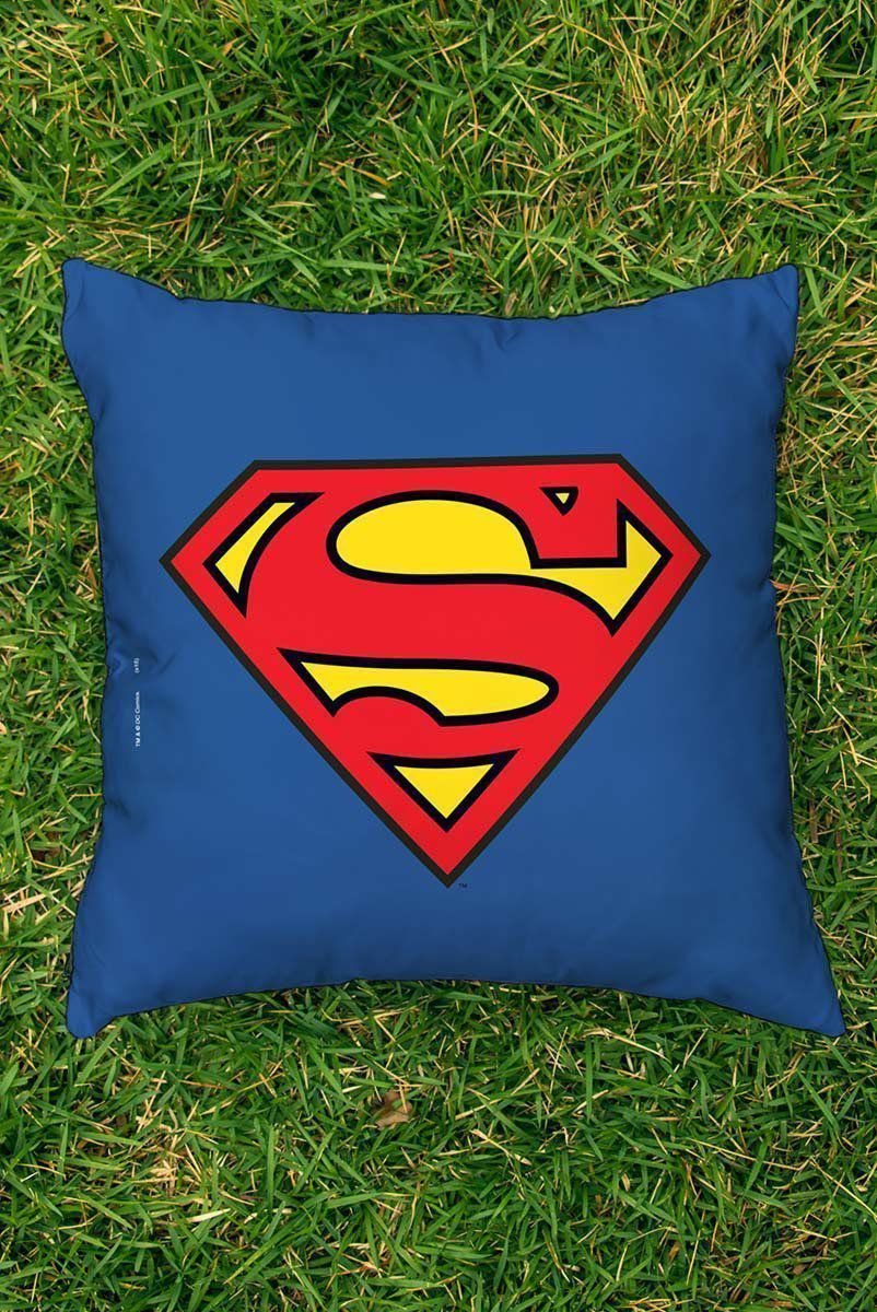 Almofada Superman Logo Superman Oficial