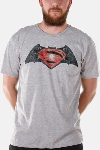 Camiseta Masculina Batman VS Superman Logo