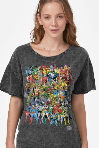 Blusa Feminina DC Comics Originals