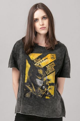 Blusa Feminina Liga da Justiça Batman