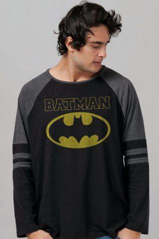 Blusa Raglan Masculina Batman Type