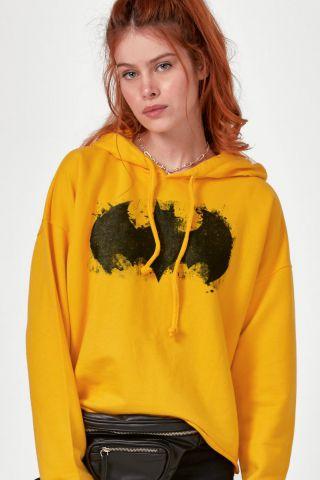 Blusão Feminino Batman Logo Fashion