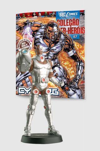 Boneco Miniatura Cyborg ed.47 + Revista