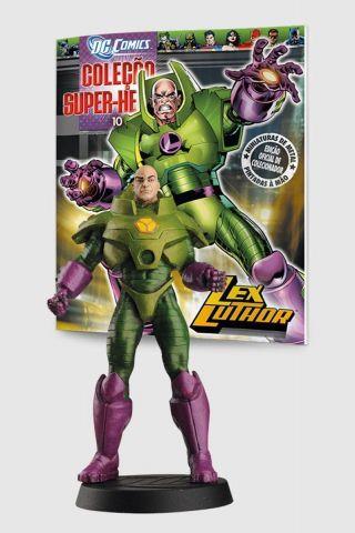Boneco Miniatura Lex Luthor ed.10 + Revista