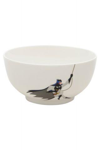 Bowl Porcelana Batman Cartoon Escalada