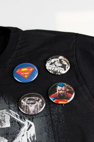 Cartela de Buttons Superman