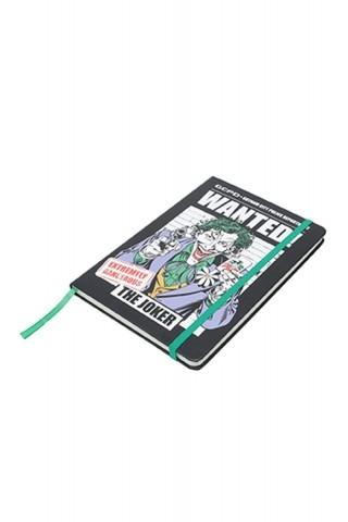 Caderneta de Anotações Coringa Wanted