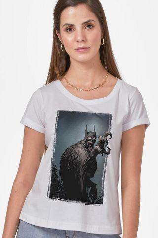 Camiseta Feminina Batman Coruja