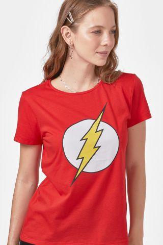 Camiseta Feminina The Flash Logo