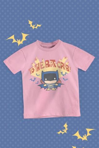 Camiseta Infantil Batman Bat-crib