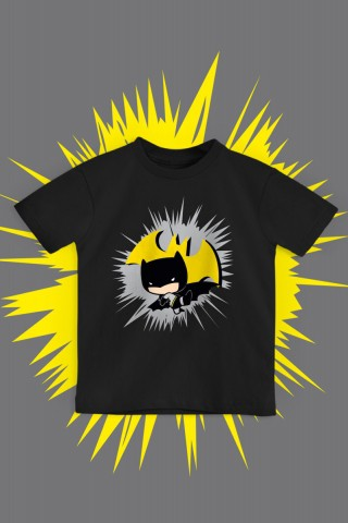 Camiseta Infantil Batman Chibi