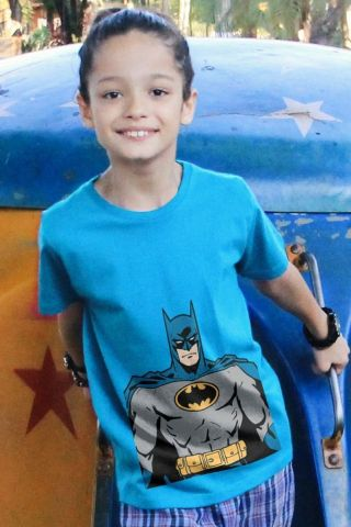 Camiseta Infantil Batman Picture