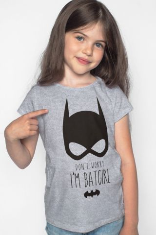Camiseta Infantil I'm Batgirl