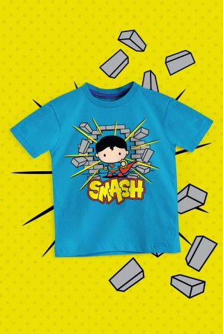 Camiseta Infantil Superman Smash
