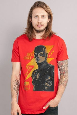 Camiseta Liga da Justiça The Flash
