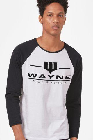 Camiseta Manga Longa Masculina Wayne Industries