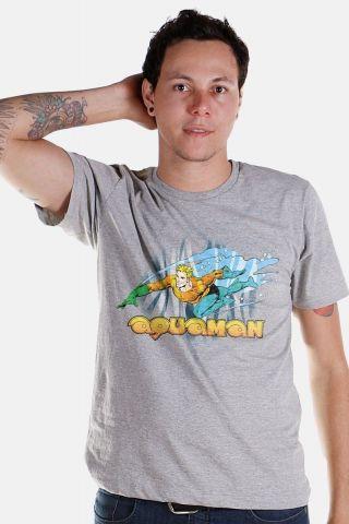 Camiseta Masculina Aquaman Force
