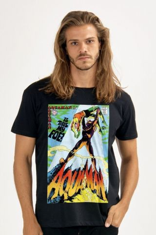 Camiseta Masculina Aquaman Is This My Foe?