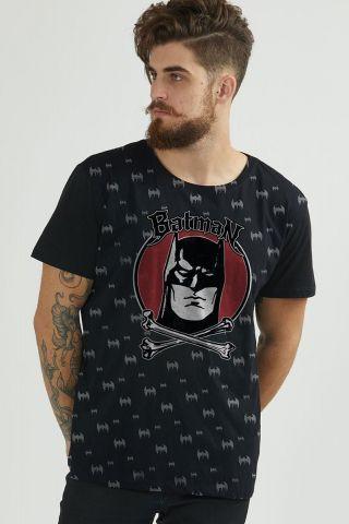 Camiseta Masculina Batman Bones