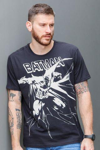 Camiseta Masculina Batman Dark Knight Mono
