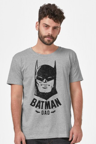 Camiseta Masculina Batman Face Dad