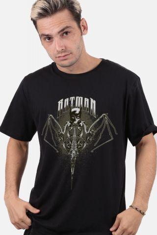 Camiseta Masculina Batman Morcego Caveira