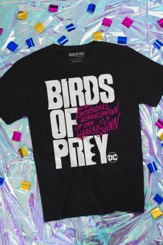 Camiseta Masculina Birds of Prey Logo - Aves de Rapina