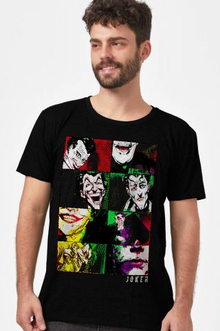 Camiseta Masculina Coringa Quadros
