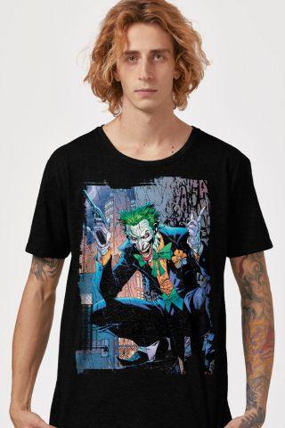 Camiseta Masculina Coringa Sarcástico