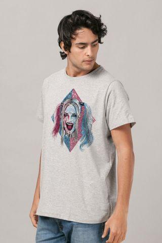 Camiseta Masculina Esquadrão Suicida Harley Quinn Puddin