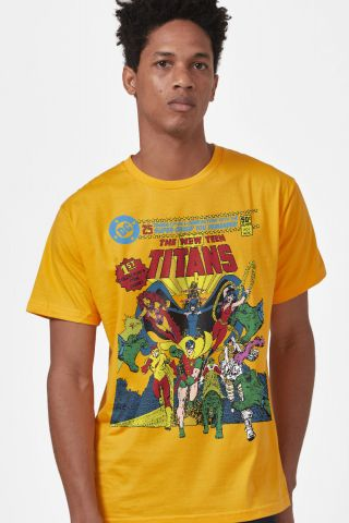 Camiseta Masculina Jovens Titãs