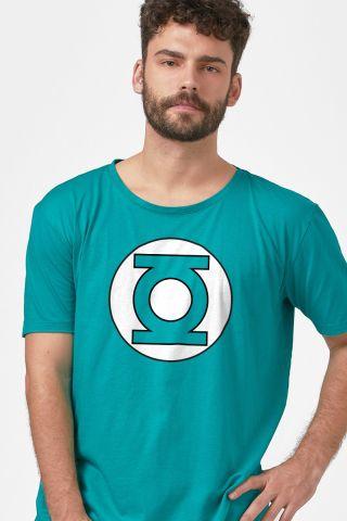 Camiseta Masculina Lanterna Verde Logo