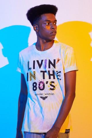 Camiseta Masculina Mulher Maravilha 1984 Livin in The 80's