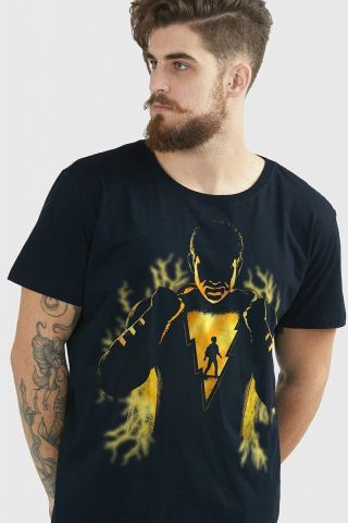 Camiseta Masculina Shazam Force