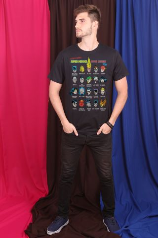 Camiseta Masculina Super Heroes Have Issues