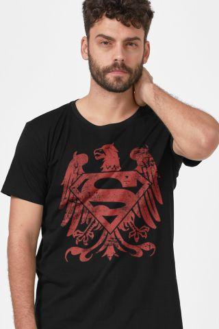 Camiseta Masculina Superman Clássica Águia Americana