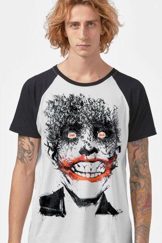 Camiseta Raglan Masculina Coringa Happy Bats
