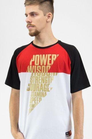 Camiseta Raglan Masculina Shazam Power