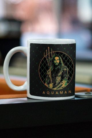 Caneca Aquaman Photo Movie