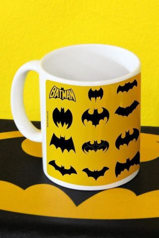 Caneca Batman Logos Collection
