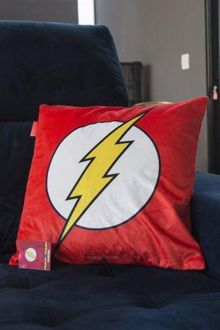 Capa para Almofada Dc The Flash Logo